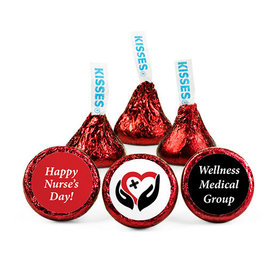 Personalized Nurse Appreciation Healing Heart Hershey's Kisses (50 pack)