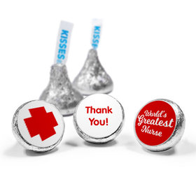 Nurse Appreciation Red Cross Hershey's Kisses Assembled (50 Pack)
