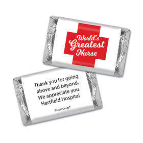 Personalized Red Cross Mini Wrappers Only
