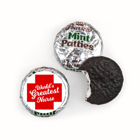 Nurse Appreciation Red Cross Pearson's Mint Patties