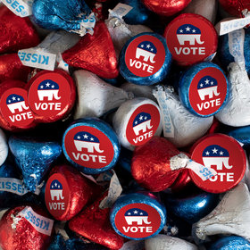 Republican Election Candy Patriotic Hershey's Kisses