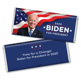 Personalized Chocolate Bar & Wrapper - Biden 2020 Election