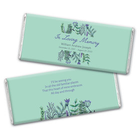 Personalized In Loving Memory Remembrance Hershey's Chocolate Bar Wrappers