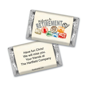 Passport to Adventure Personalized Miniature Wrappers