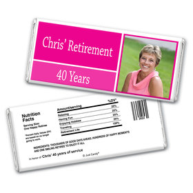 Photo Op Personalized Candy Bar - Wrapper Only