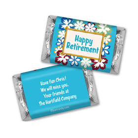 Hawaiian Retirement Personalized Miniature Wrappers