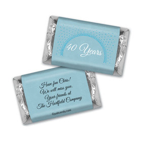 Bright Retirement Personalized Miniature Wrappers