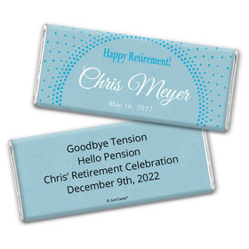 Bright Retirement Personalized Candy Bar - Wrapper Only