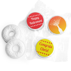 Celebrate Personalized Retirement LIFE SAVERS Mints Assembled