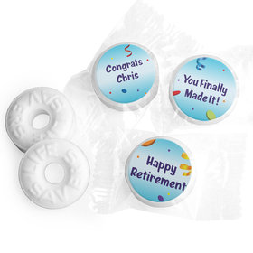 All Fun Personalized Retirement LIFE SAVERS Mints Assembled
