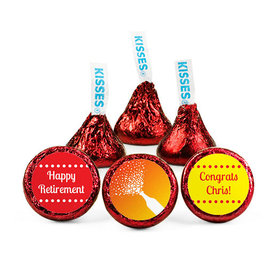 Personalized Retirement Celebrate Hershey's Kisses (50 pack)