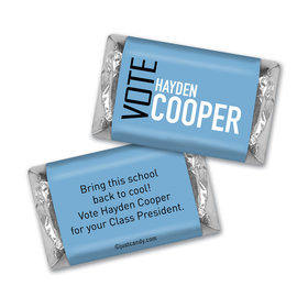 School Election Campaign Personalized HERSHEY'S MINIATURES Vote in Text