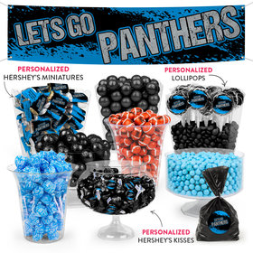 Lets Go Panthers Deluxe Candy Buffet