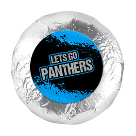 """Go Panthers! Super Bowl 1.25"""" Stickers (48 Stickers)"""