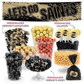 Lets Go Saints Deluxe Candy Buffet
