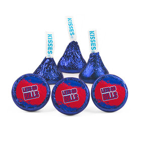 Hershey's Kisses - Let's Go Bills Football Party (50 Pack)