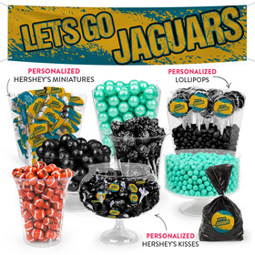 Lets Go Jaguars Deluxe Candy Buffet