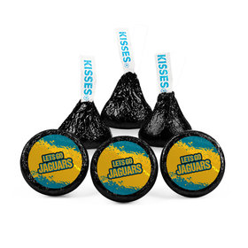 Hershey's Kisses - Let's Go Jaguars Football Party (50 Pack)