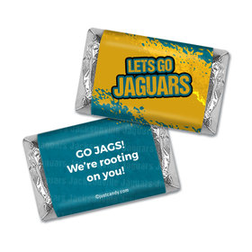 Go Jaguars! Superbowl Hershey's Mini Wrappers Only