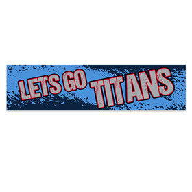 Let's Go Titans Football Party 5 Ft. Banner