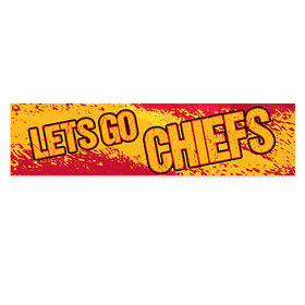 Let's Go Chiefs Football Party 5 Ft. Banner