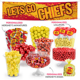Lets Go Chiefs Deluxe Candy Buffet