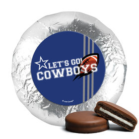 """Cowboys Football Party 1.25"""" Stickers (48 Stickers)"""