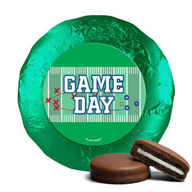 Personalized Milk Chocolate Covered Oreos - Football Field
