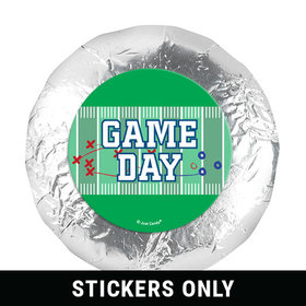 """Personalized 1.25"""" Stickers - Football Field (48 Stickers)"""