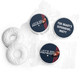 Life Savers Mints Personalized Patriots Football Party