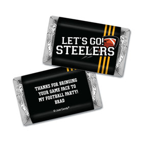 Personalized Steelers Football Party Hershey's Miniatures