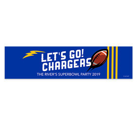 Chargers Football Party 5 Ft. Banner