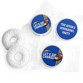 Life Savers Mints Personalized Chargers Football Party