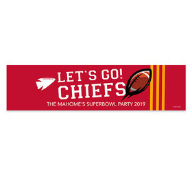 Chiefs Football Party 5 Ft. Banner