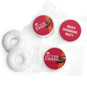 Life Savers Mints Personalized Chiefs Football Party