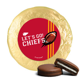 Chiefs Football Party Milk Chocolate Covered Oreos