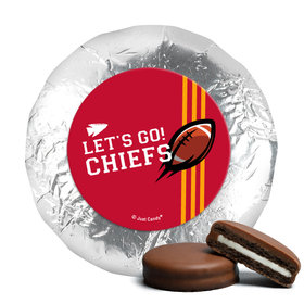 """Chiefs Football Party 1.25"""" Stickers (48 Stickers)"""