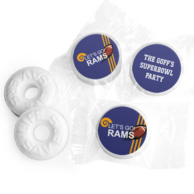 Life Savers Mints Personalized Rams Football Party