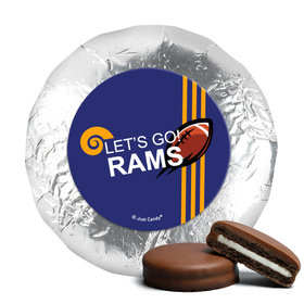 "Rams Football Party 1.25"" Stickers (48 Stickers)"