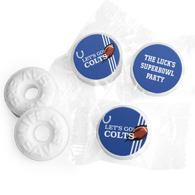 Life Savers Mints Personalized Colts Football Party