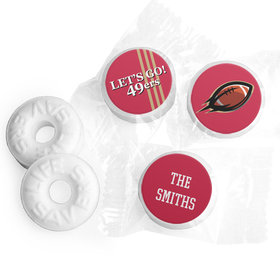 Life Savers Mints Personalized 49ers Football Party