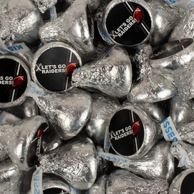 Let's Go Raiders Hershey's Kisses Candy