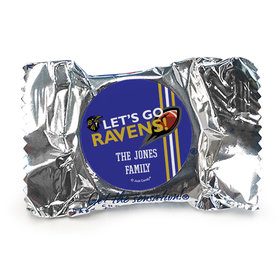 Personalized Ravens Football Party York Peppermint Patties
