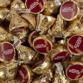 Let's Go Washington Football Team Hershey's Kisses Candy