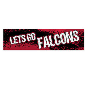 Let's Go Falcons Football Party 5 Ft. Banner