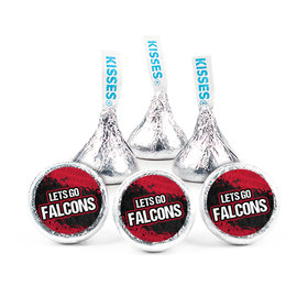 """Let's Go Falcons 3/4"""" Stickers (108 Stickers)"""