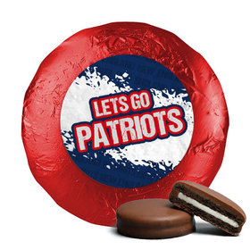 Let's Go Patriots Chocolate Covered Oreos