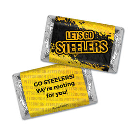 Let's Go Steelers Miniatures Wrappers