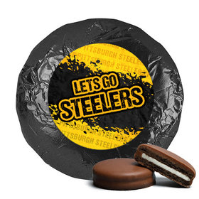 Let's Go Steelers Milk Chocolate Covered Oreos