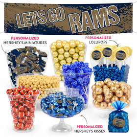 Lets Go Rams Deluxe Candy Buffet